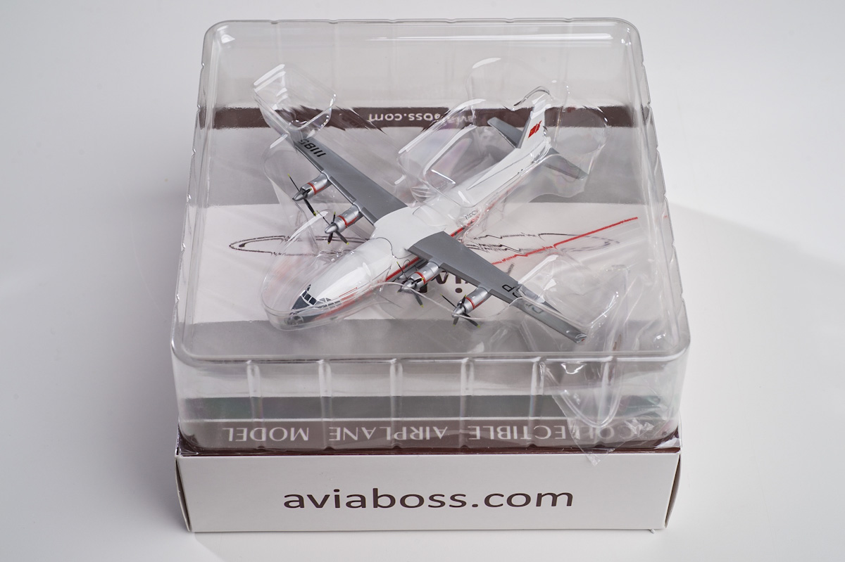 Antonov An-10A scale model, AviaBoss A2002.