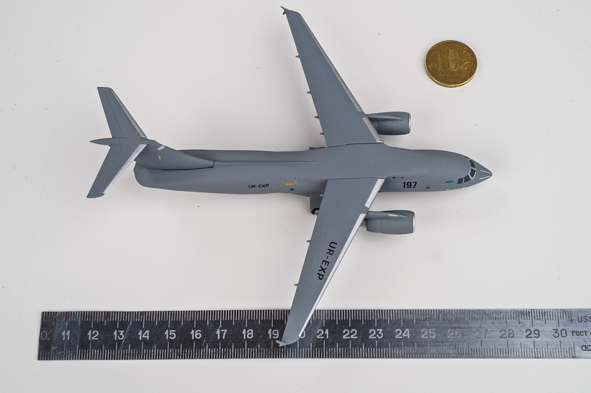 Antonov An-178 scale model, AviaBoss A2003.