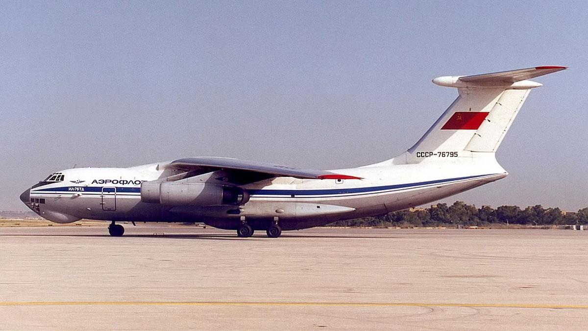 Самолет Ил-76ТД СССР-76795.