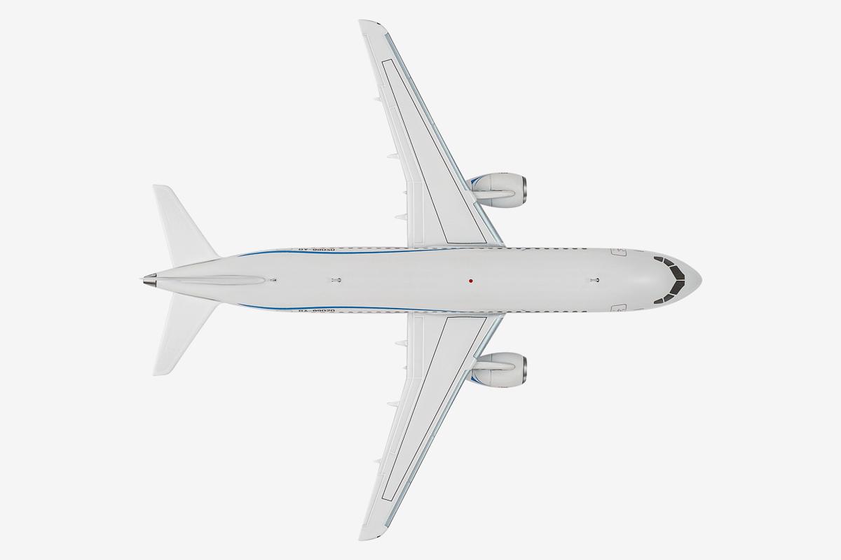 Sukhoi Superjet-100 scale model, AviaBoss A2007.