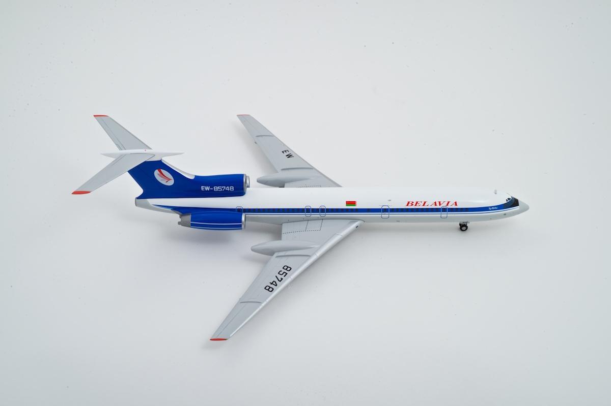 Tupolev Tu-154M scale model, AviaBoss A2022.