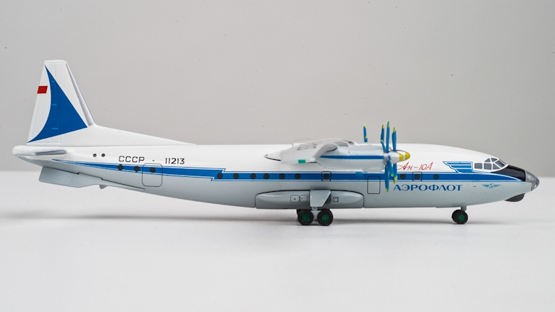 Antonov An-10A scale model, AviaBoss A2001.